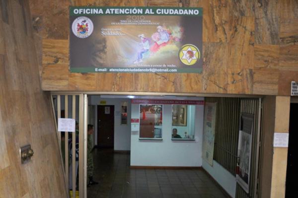 La octava brigada puso en funcionamiento oficina de for Oficina del ciudadano