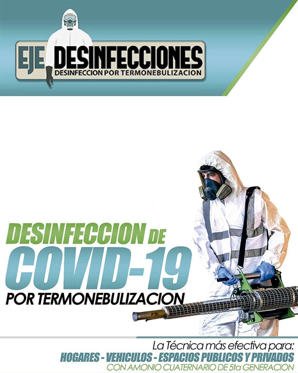Eje Desinfecciones