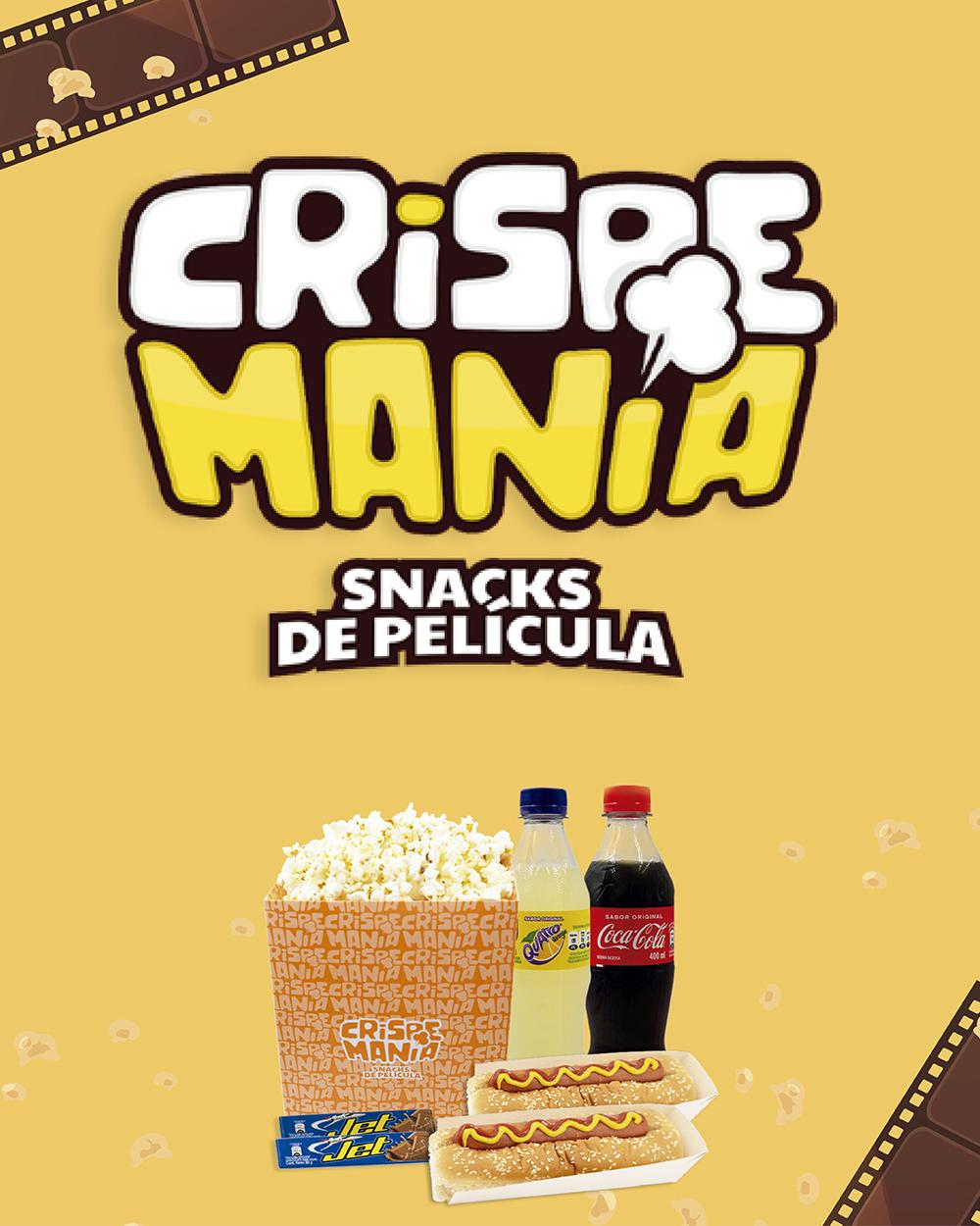 Crispemanía Snacks de Película