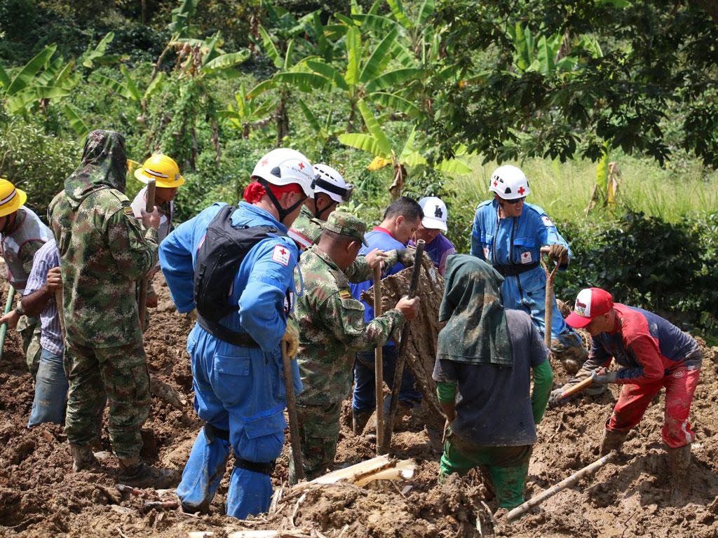 Así avanza la búsqueda de los menores atrapados en zona rural de Calarcá