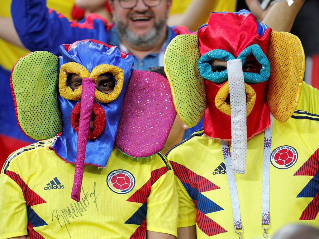 De la alegría a la tristeza: Así se vivió el último partido de Colombia en Rusia 2018