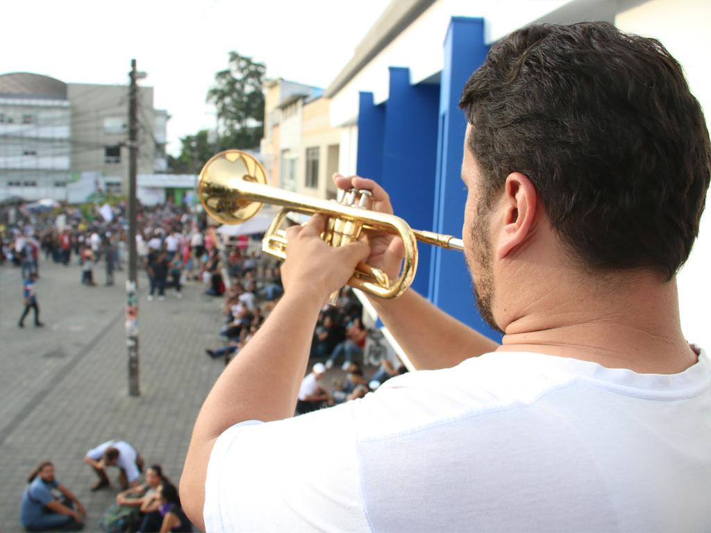 En imágenes, un poco de la Marcha Musical en Armenia