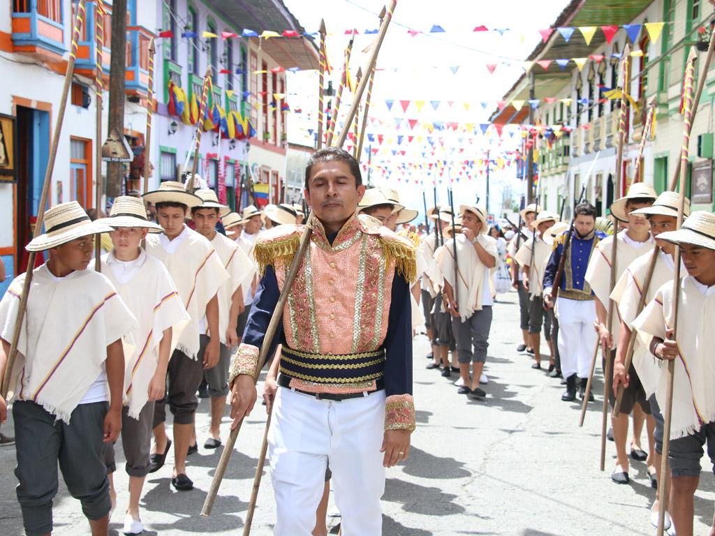 En imágenes, Filandia se vistió de fiesta con el Festival Camino del Quindío