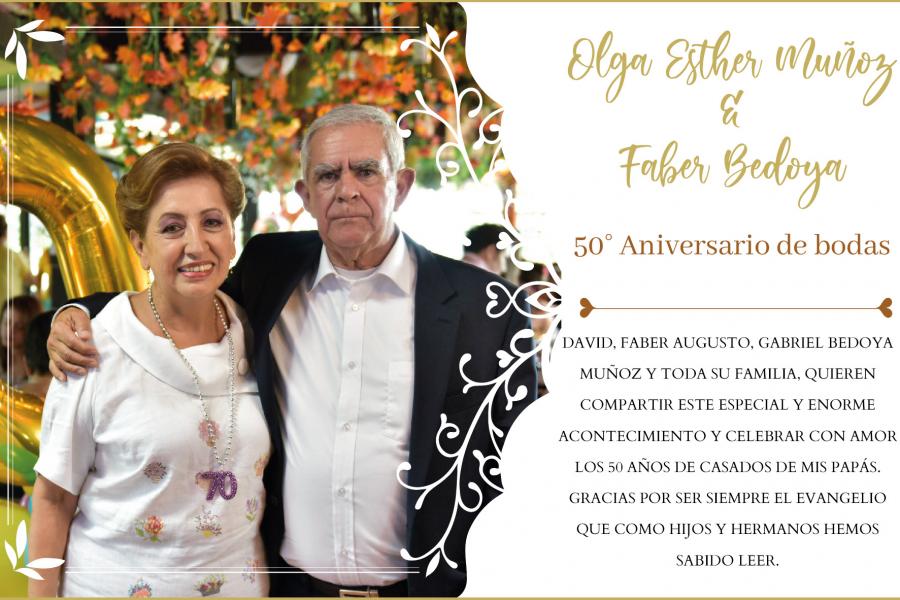 Aniversario 50 de bodas