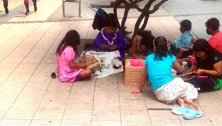 Niños indígenas, usados para mendigar en Armenia