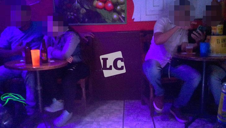 Visitantes de algunos bares no cumplen distanciamiento