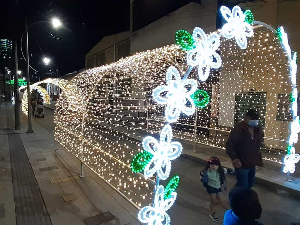 Las luces de la Navidad alumbran los  corazones en los municipios del Quindío