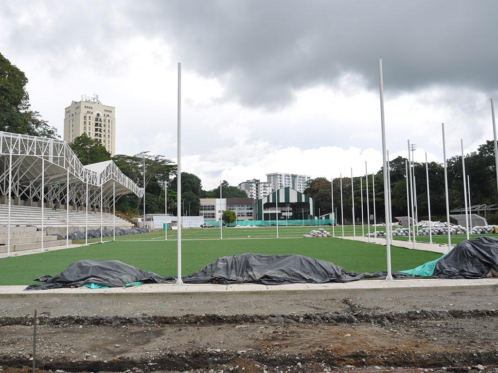 Escenarios deportivos nuevos y certificados en la Uniquindío