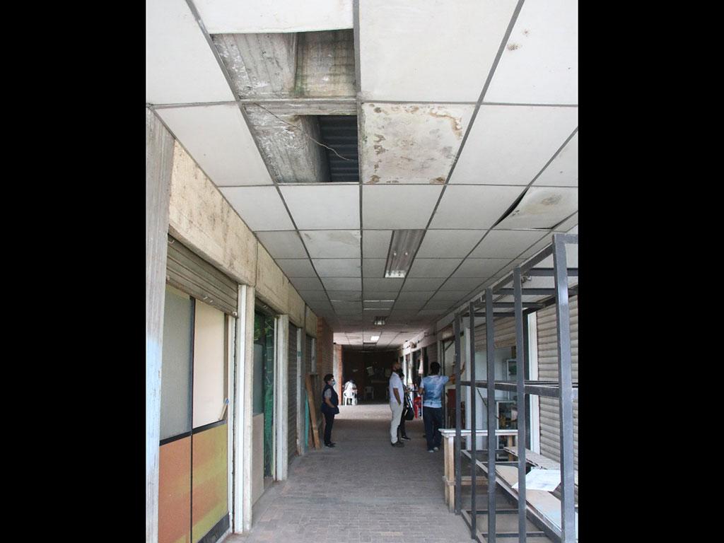 Comerciantes de la galería de Calarcá  manifiestan su inconformidad por el mal estado del lugar