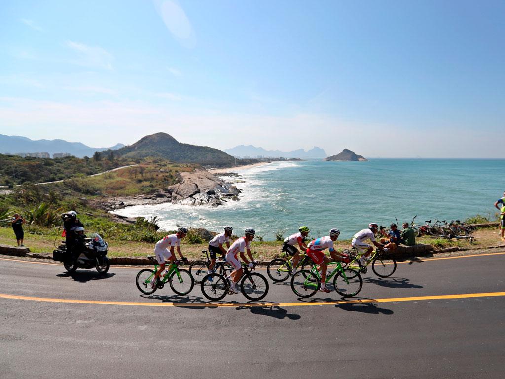 Colombia en la prueba de ciclismo de ruta