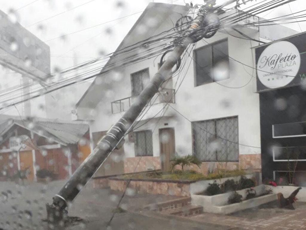 En fotos: afectaciones que dejaron las lluvias de este miércoles en Armenia