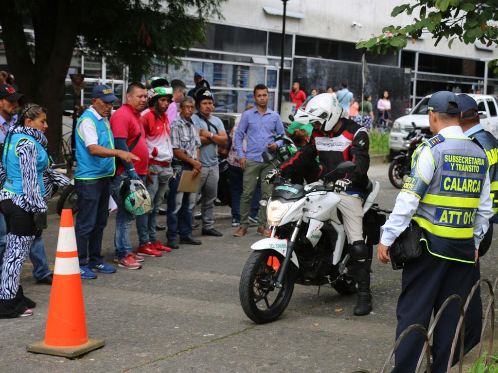 Así fue el inicio de la semana de la Seguridad Vial en el Quindío