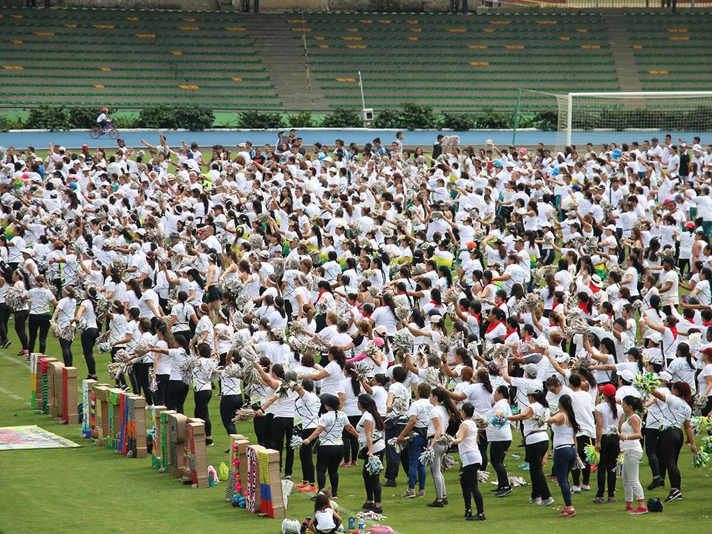 Así se vivió en Armenia el día mundial de la Actividad Física