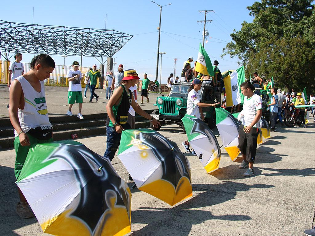 ¡Con caravana celebraron los 69 años del Deportes Quindío!