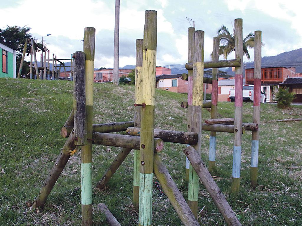 Parques de Calarcá  están en el olvido