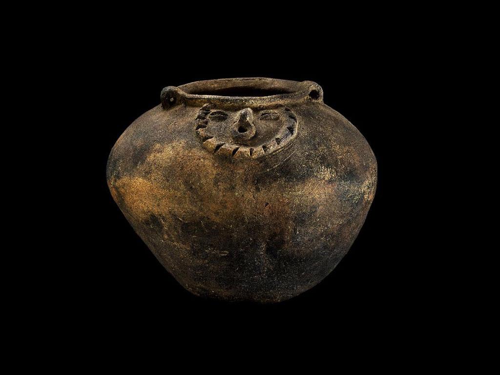Piezas arqueológicas que ahora están en el Museo del Quindío