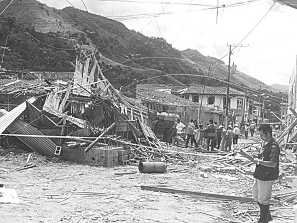 [En imágenes] 15 años de la toma guerrillera en Pijao