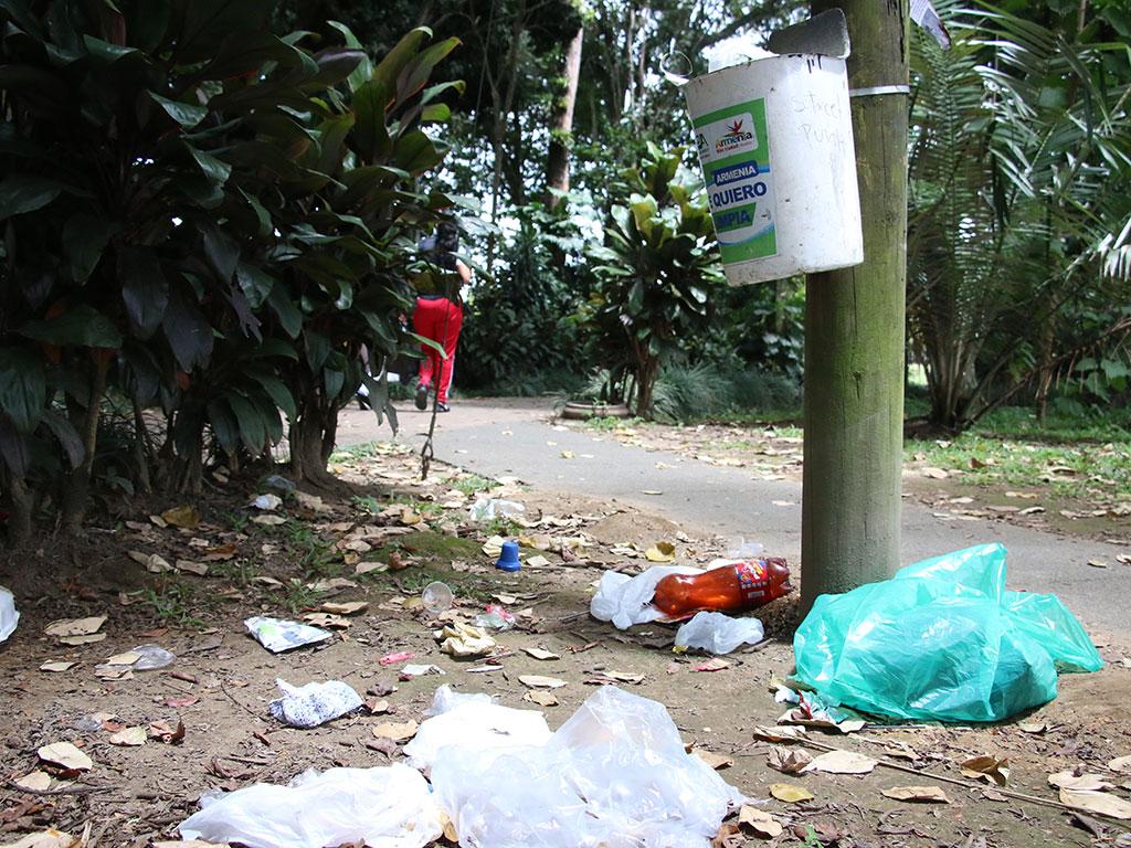 El Bosque, un parque sin dolientes y con muchos delincuentes