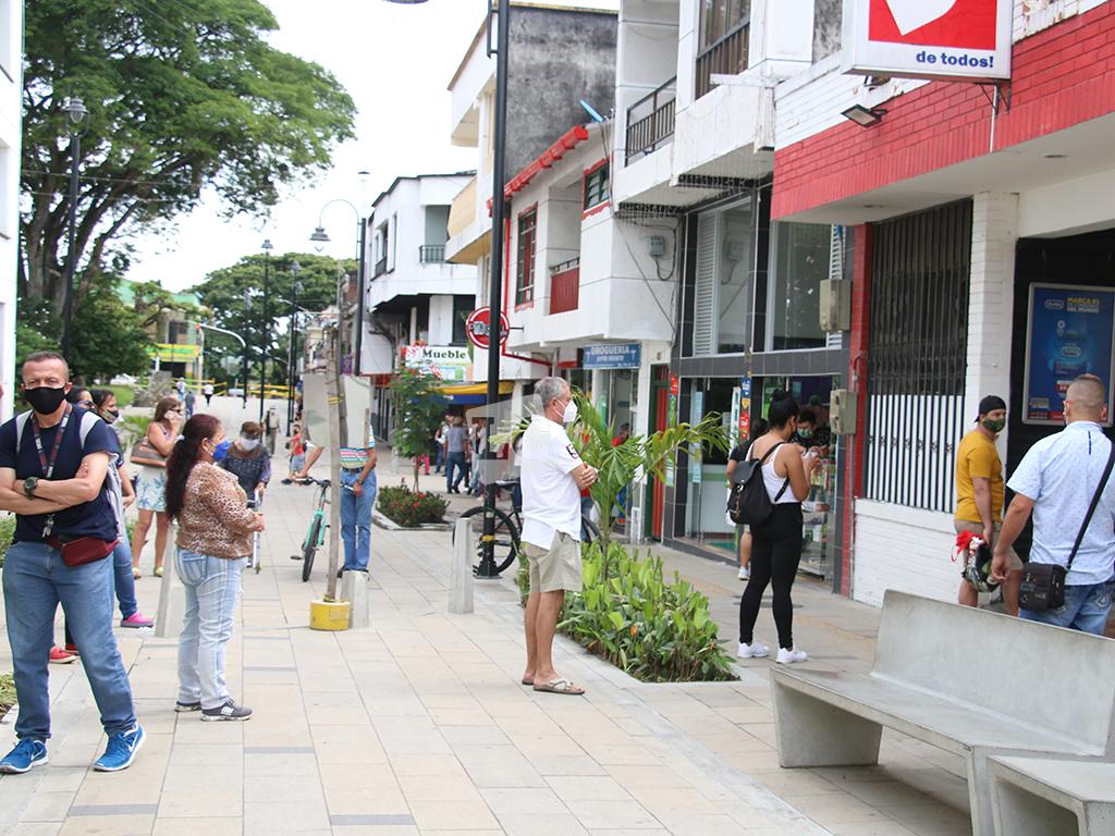 Muy 'tropicales' frente a la COVID-19 en La Tebaida