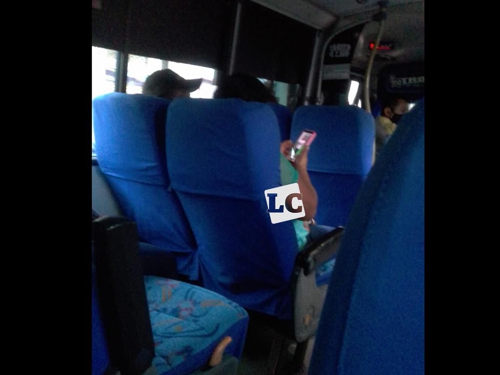 Pasajeros no respetan protocolos de bioseguridad en buses de Calarcá