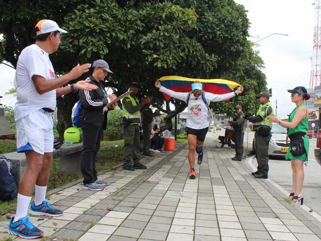 Vuelta a Colombia de Atletismo trajo mensaje de paz