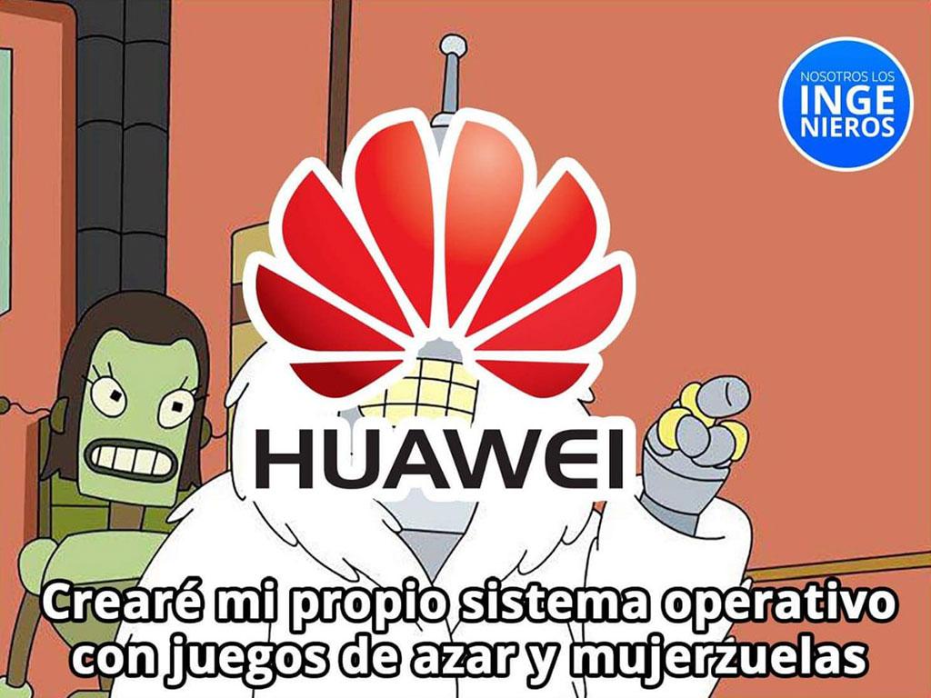 Las redes se inundaron de memes tras la 'ruptura' entre Google y Huawei