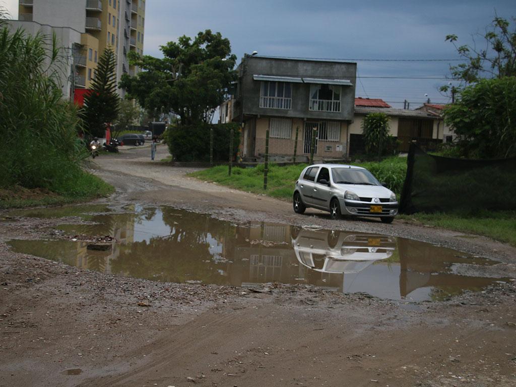 Calles de Armenia que llevan más de 20 años sin pavimentar