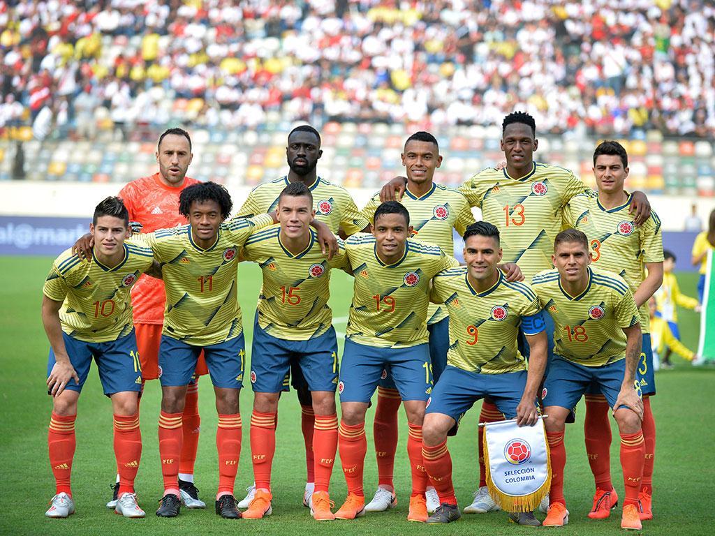 Las mejores fotos de la victoria de Colombia sobre Perú en el Monumental de Lima