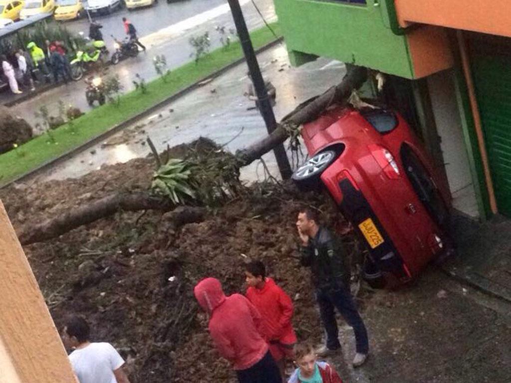 Así quedó Manizales después de la tragedia causada por deslizamientos