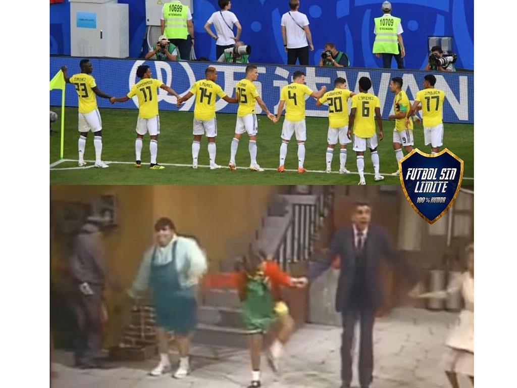 Los mejores memes que dejó la victoria de Colombia ante Senegal