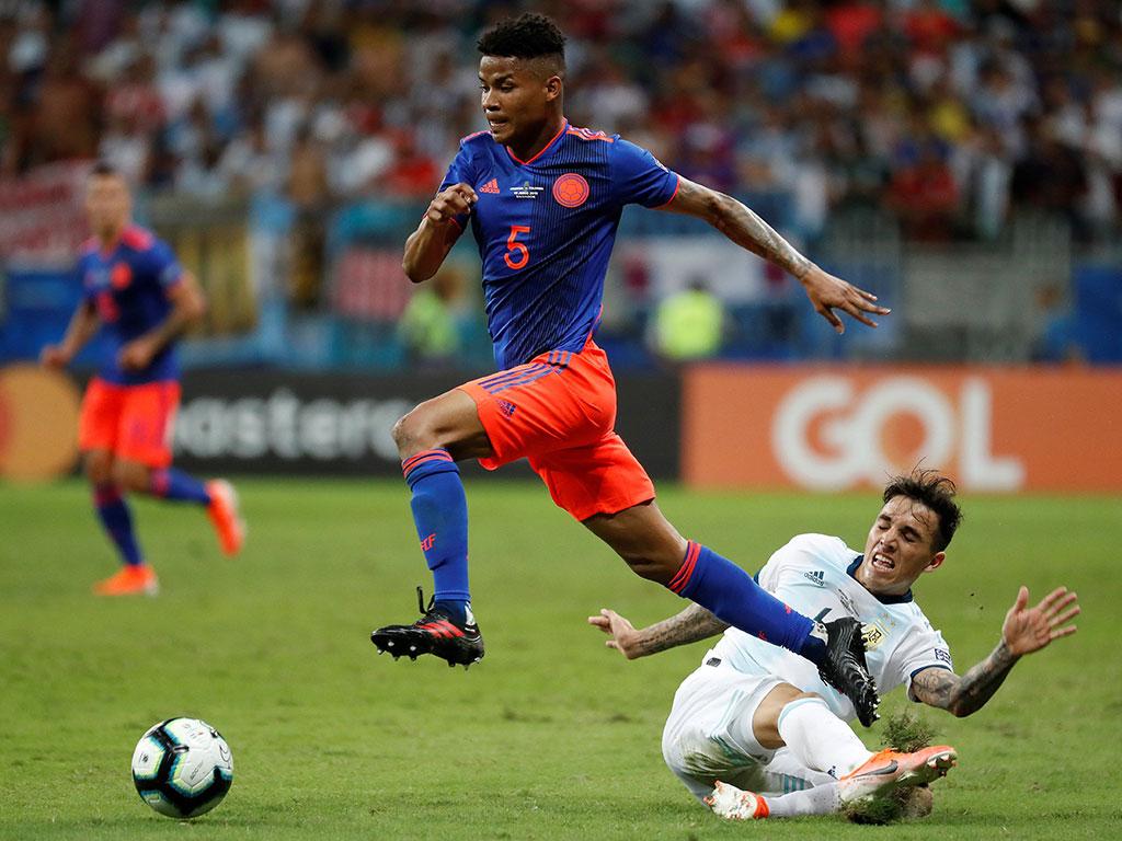 Las mejores fotos del triunfo de Colombia 2-0 sobre Argentina