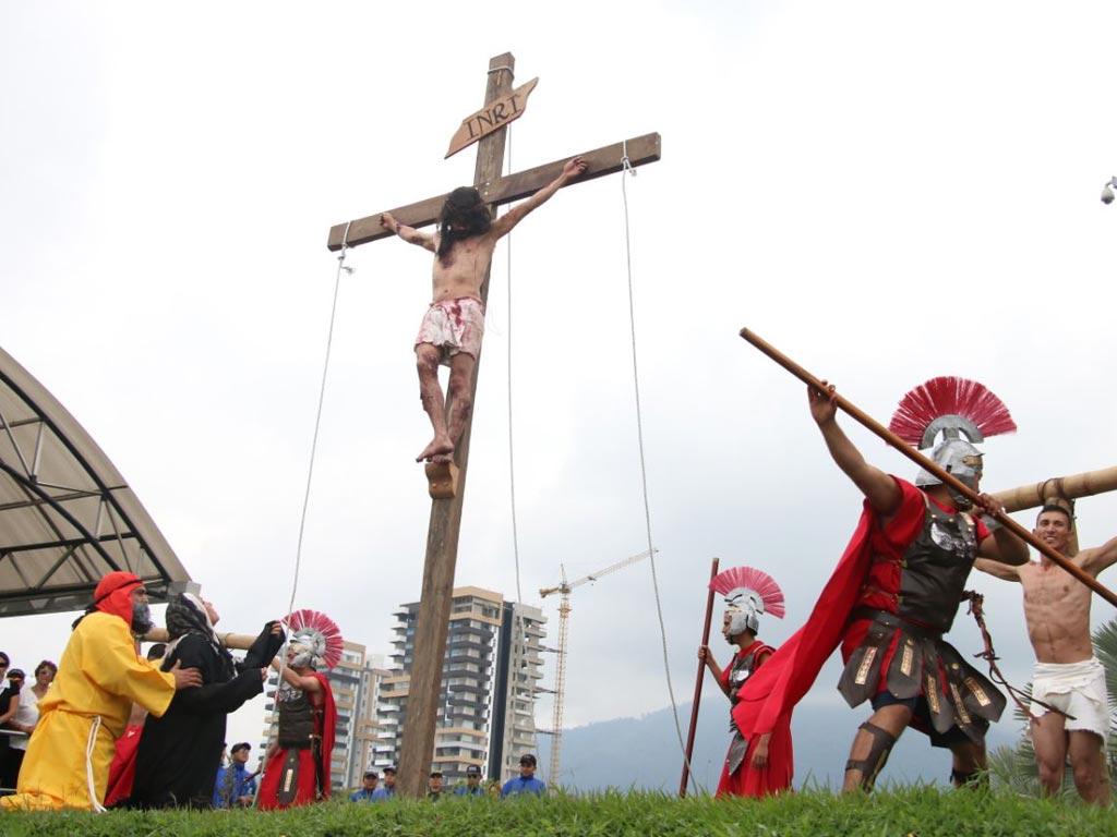 En fotos: Así conmemoraron los quindianos la pasión y muerte de Jesucristo