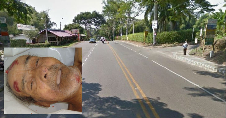 Murió adulto mayor arrollado por una motocicleta