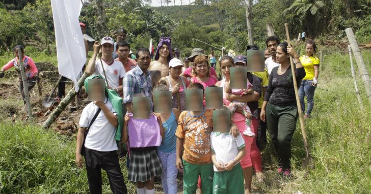 En la cola del Giraldo en Calarcá, 40 familias optaron por la invasión