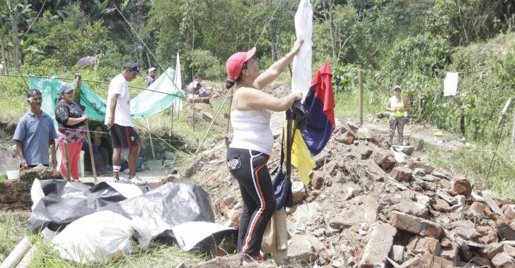 Denuncian venta ilegal de terrenos en el barrio Giraldo de Calarcá