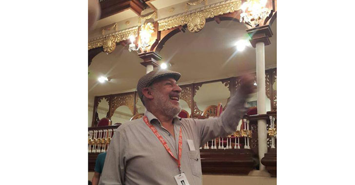 Carlos Sánchez, el militante del cine