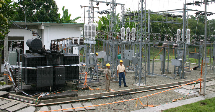 Daños en subestación eléctrica causaron apagones  en el Quindío