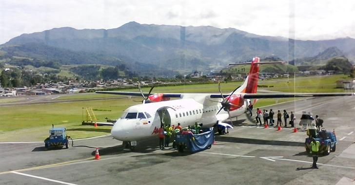 Las cenizas del Ruiz causaron retrasos de vuelos en Manizales