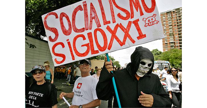La mala hora del socialismo del siglo XXI en Sudamérica