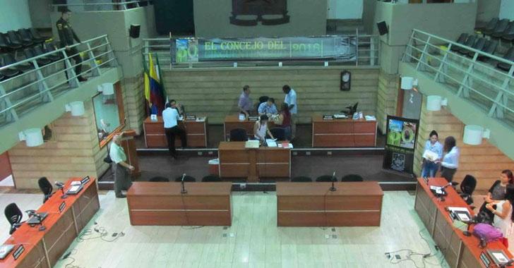 Solo 4 cabildantes asistieron a  informe de gestión del concejo