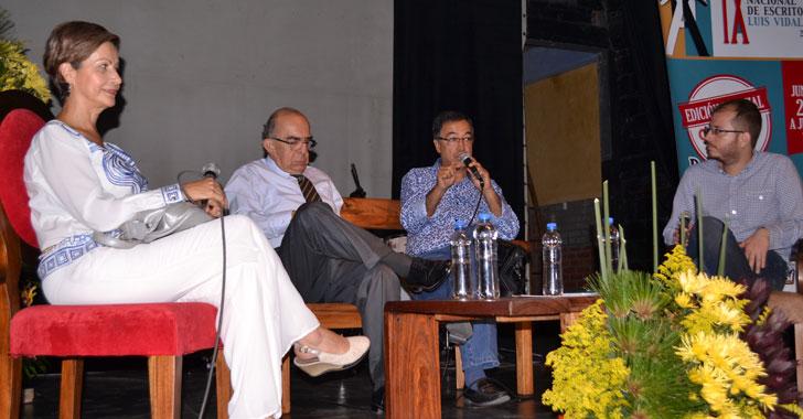 Potdevin presentó su novela en el encuentro Luis Vidales