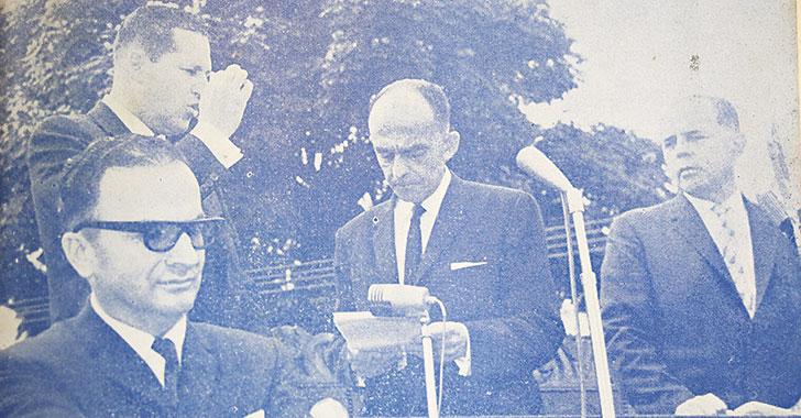 Rescatamos el discurso de posesión del primer gobernador del Quindío