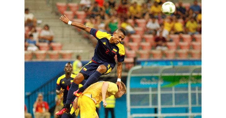 Colombia debutó con empate en Río 2016