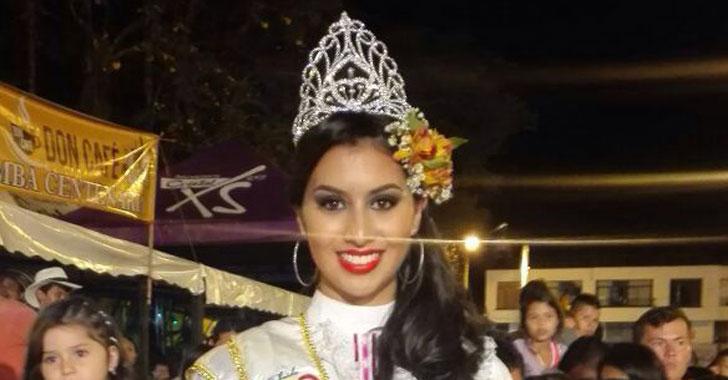 Daniela Martínez Correa, la reina  del centenario de La Tebaida