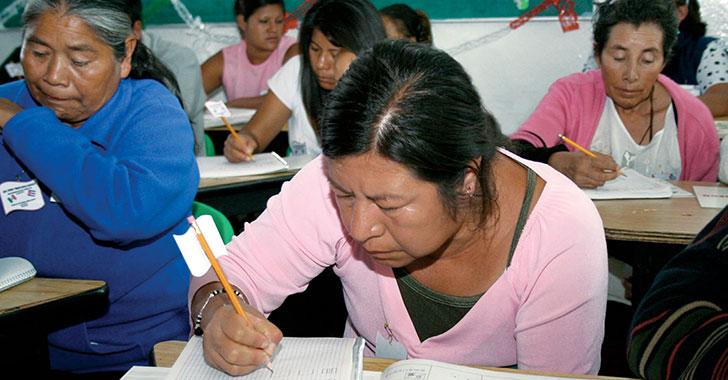 La alfabetización promueve sociedades más pacíficas, equitativas y sostenibles