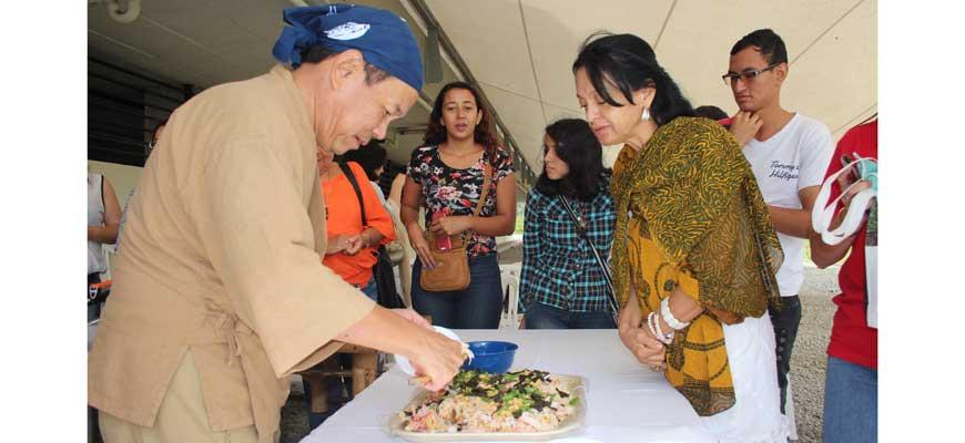 Japón se lució con muestra gastronómica y cultural