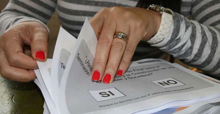 [En imágenes] El plebiscito en el departamento del Quindío