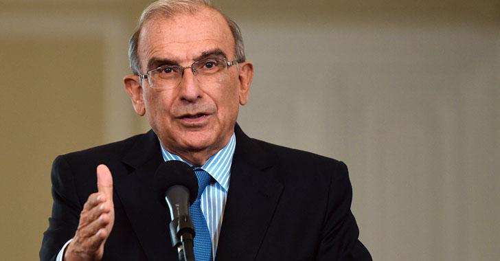 Humberto de la Calle dejó en manos del presidente su continuidad en el cargo