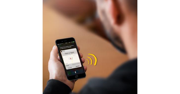 Tappsi, una app para pedir taxi a través del comando de voz
