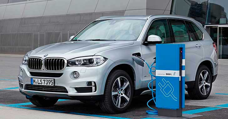 BMW en el Salón del automóvil de 2016